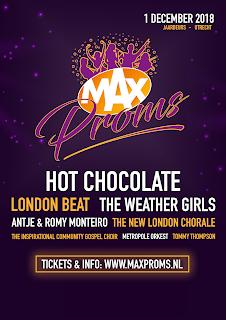 Line-up van de MAX Proms 2018 compleet: kaartverkoop van start