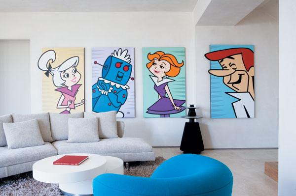 Arredamento Stile Pop Art : Portalegna porta personalizzata decorazioni arredamento design