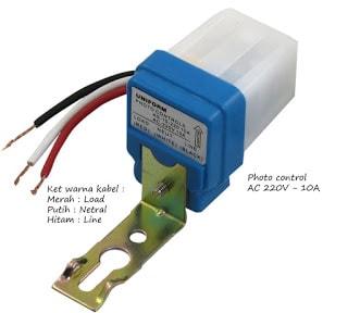 Cara pasang instalasi sensor cahaya photocell yang baik lengkap photocell photo control ccuart Gallery