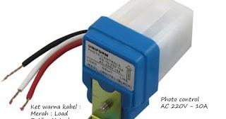 Cara Pasang Instalasi Sensor Cahaya Photocell Yang Baik Lengkap Listrik Praktis