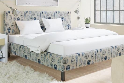 Coquina Scalamandre Fabric Furniture Beds Headboards Coastal Seashell Pattern