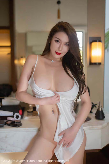 Hot and sexy braless photos of beautiful busty asian hottie chick Chinese babe model Egg Younisi photo highlights on Pinays Finest Sexy Nude Photo Collection site.