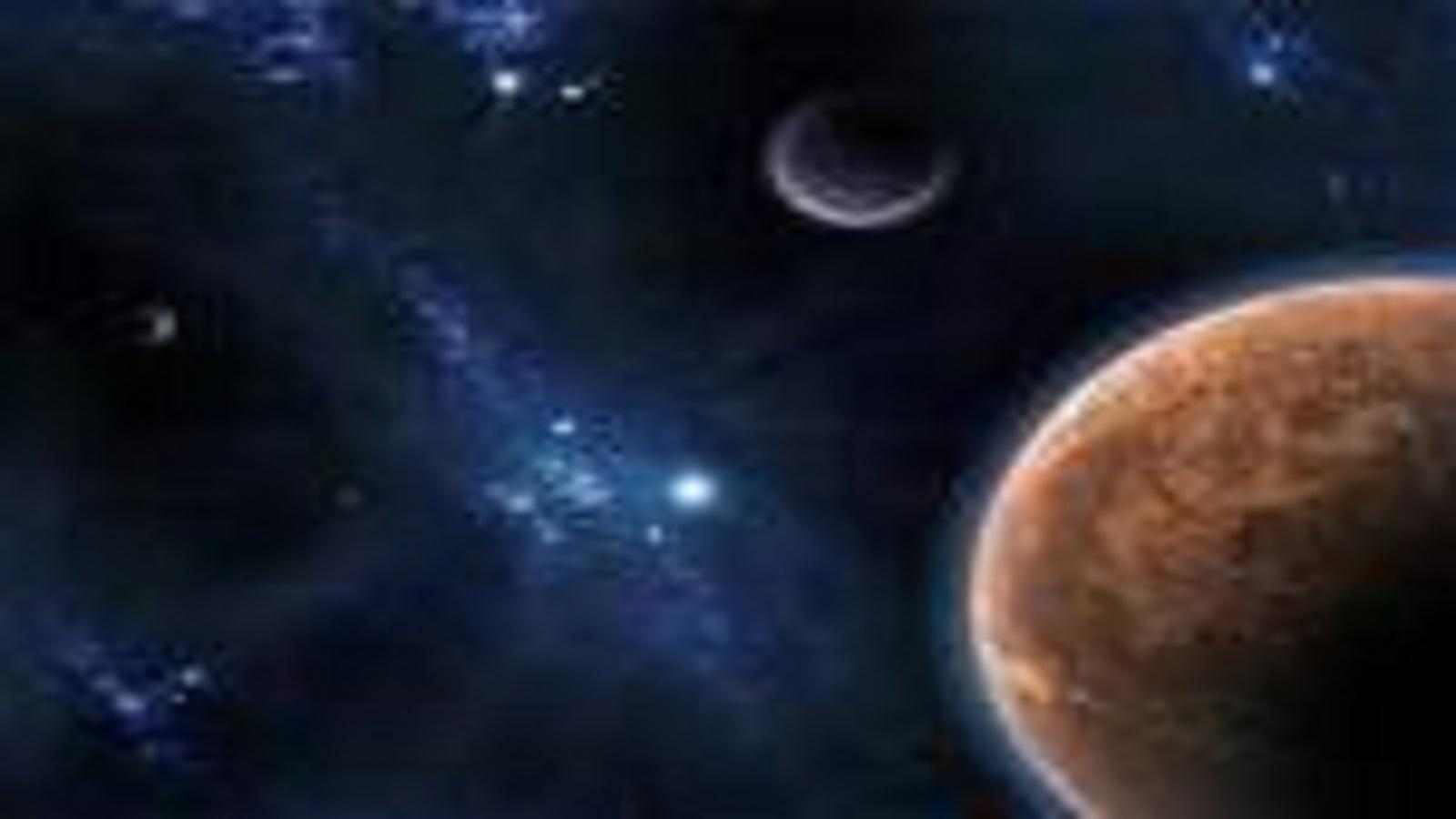 alam semesta yang luas