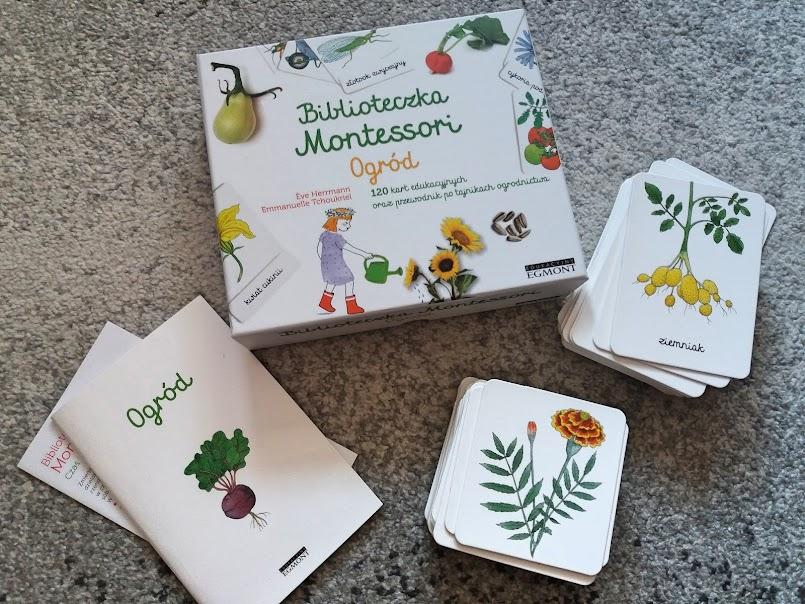 Nauka i zabawa: Biblioteczka Montessori - ogród