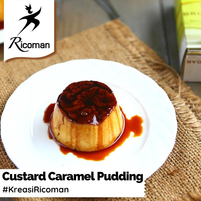 [RESEP] Custard Caramel Pudding
