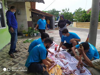 HUT KNPI ke 48 Th, DPD KNPI Bandar Lampung Adakan Giat Qurban serentak di Beberapa Kecamatan Kota Bandar Lampung