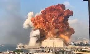 Grandes explosiones vividas este martes en la capital Libanesa de Beirut