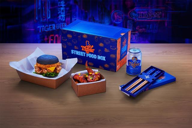 Tiger Street Food Box