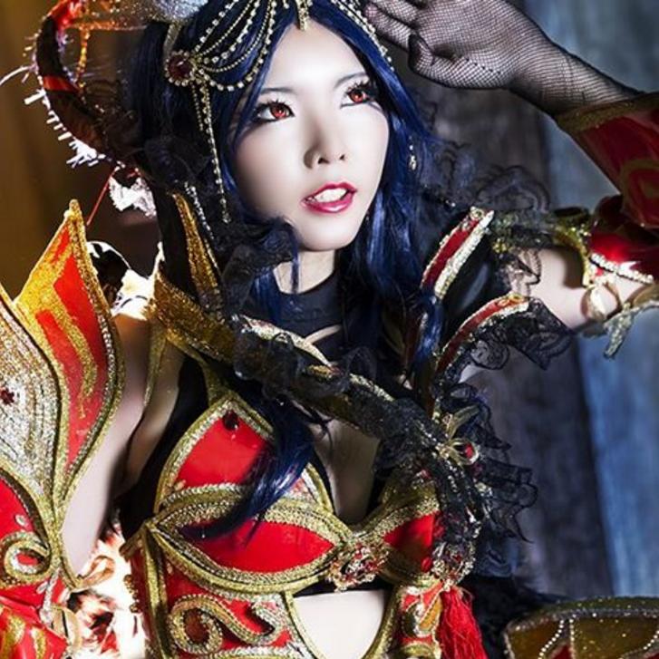 "Putri Nony Lovyta, cewek cantik asal Indonesia dengan nama julukan ""Yikitora Keiji"""