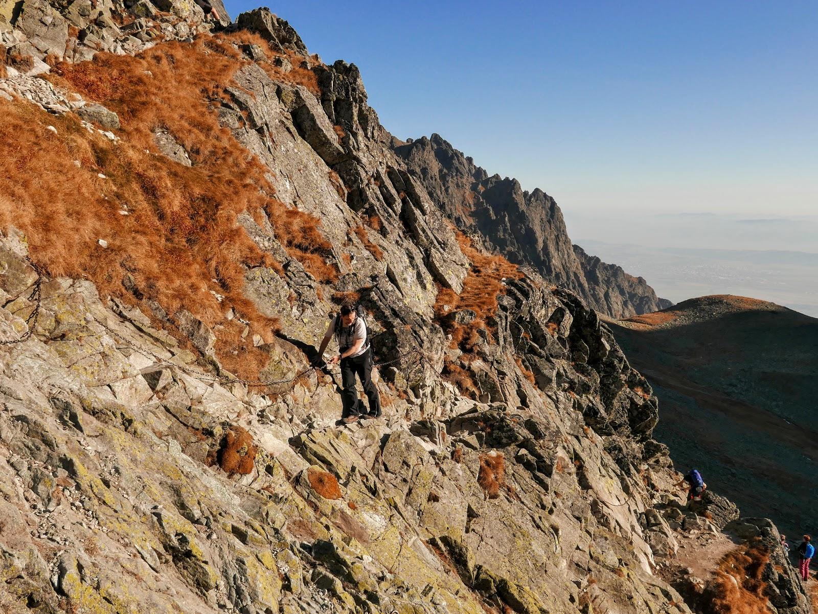 tatry szlak Polski Grzebień Poľský hrebeň