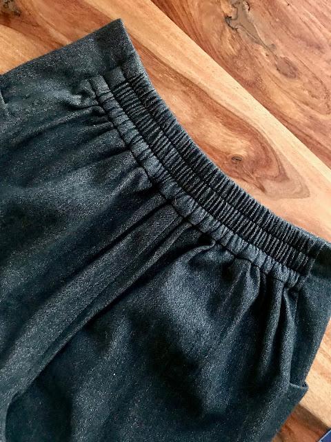 Diary of a Chain Stitcher: Wool Herringbone Closet Case Patterns Pietra Pants The Fabric Store