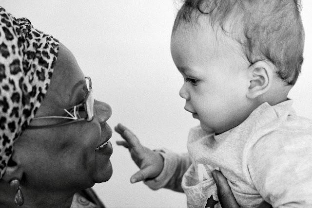 Nono et sa grand-mère