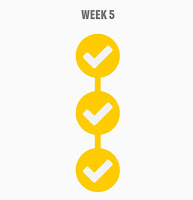 Couch to 5k Weekly Completion Badge - Week 5)