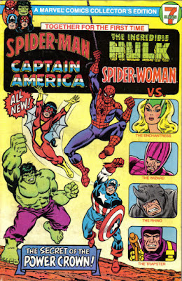 Spider-Man, Captain America, The Incredible Hulk and Spider-Woman Collectors Edition