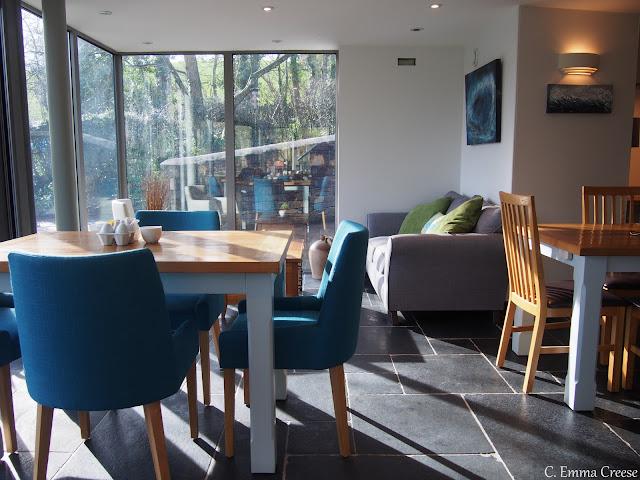 Luxury Glass Conservatory Living Room