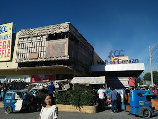 KCC Mall of Gensan facade collapses