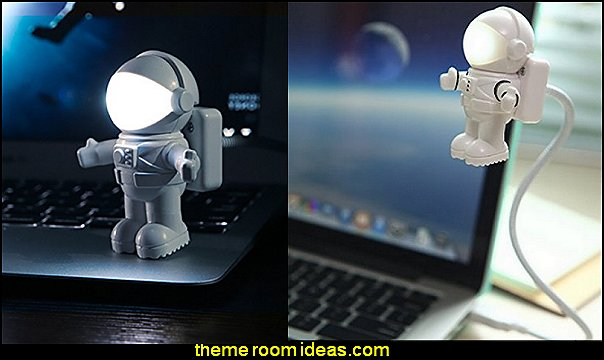 Astronaut LED USB Light  Gift ideas - fun novelty gift shopping ideas - gift ideas - slippers - sleep wear - personalized gifts - cool stuff to buy