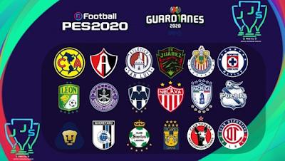 PES 2020 Liga MX 2020 Torneo Guardianes