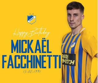 Χρόνια πολλά στον Mickaël Facchinetti