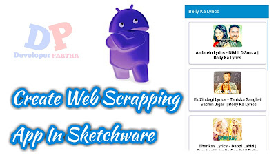 How To Create Web Scraping App In Sketchware