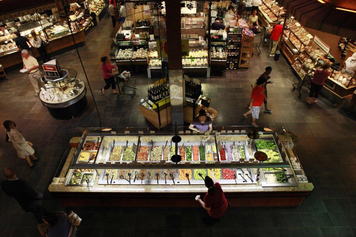 Foodservice solutions wegmans power meals are power full for Food bar wegmans