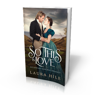 Book cover: So This Is Love by Laura Hile