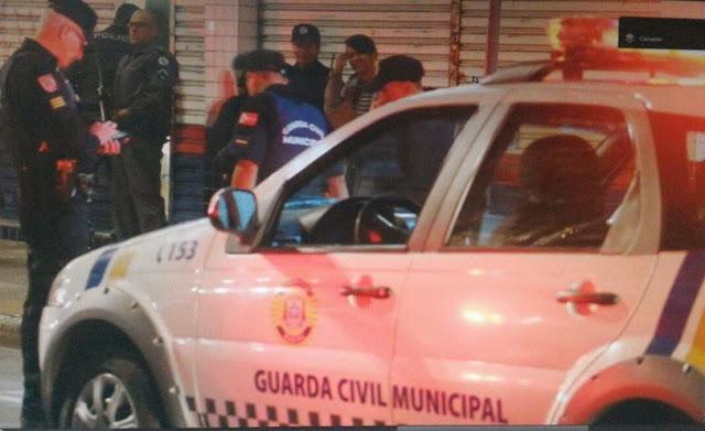 Guarda Civil de Suzano é baleado após surpreenderem assalto a loja das Casas Bahia
