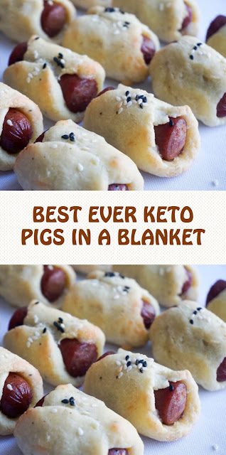 BEST EVER KETO PIGS IN A BLANKET