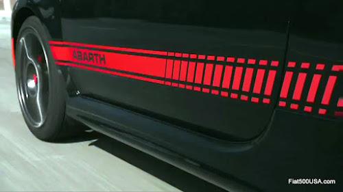 Fiat 500 Abarth Lower Body Stripe