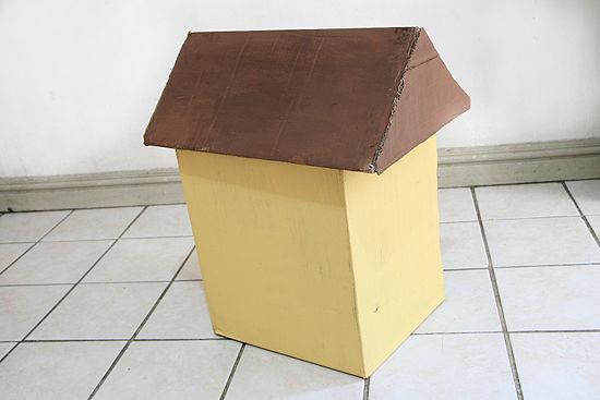pasos parar hacer una casa de carton