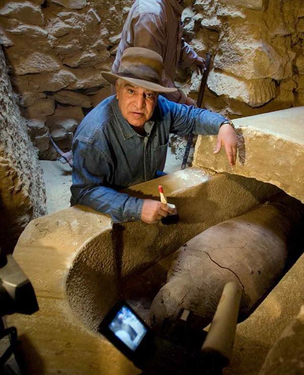 Zahi Hawass, ex-ministro de Antiguidades do Egito