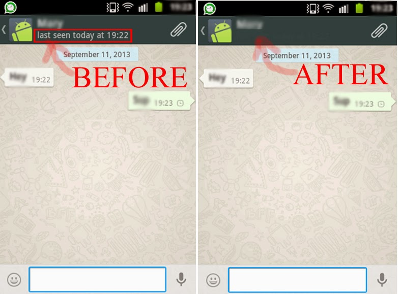 How To Hidedisable The Whatsapp Last Seen Time