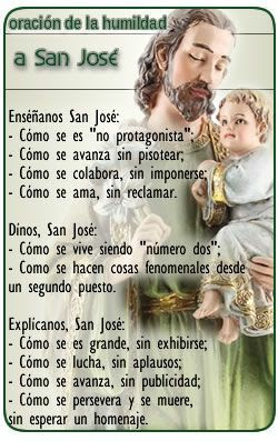 Oracion humildad San Jose