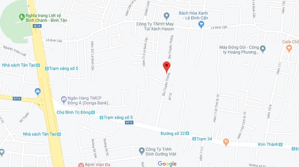 Bán nhà hẻm 21 đường Bia Truyền Thống quận Bình Tân giá rẻ. DT 4x12m