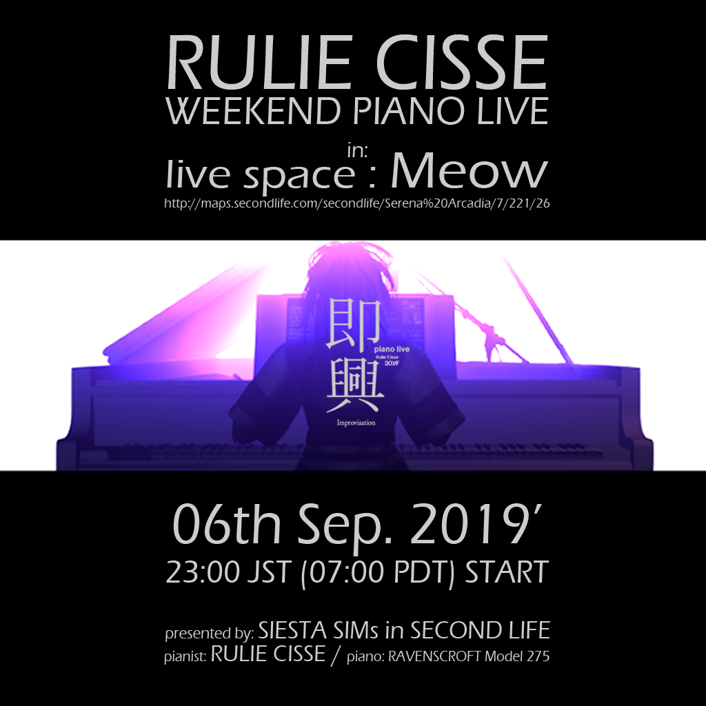 RULIE CISSE weekend p・・・