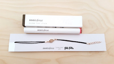 Innisfree Glow Tint Stick (#5) and Bracelet Gift