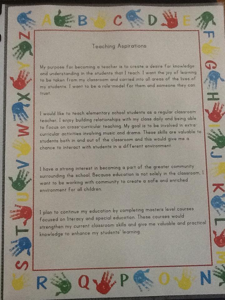 Back Hall Collaborators Professional Teaching Portfolio