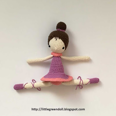 Amigurumi Ballerina Crochet Amour Fou