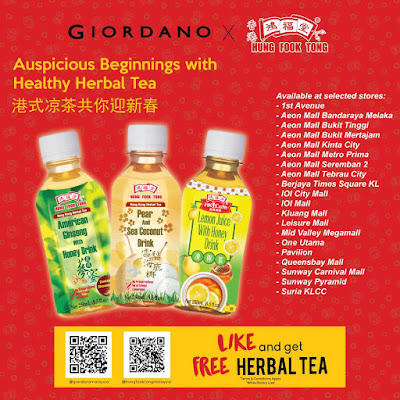 Hung Fook Tong Malaysia Free Herbal Tea Giveaway Giordano