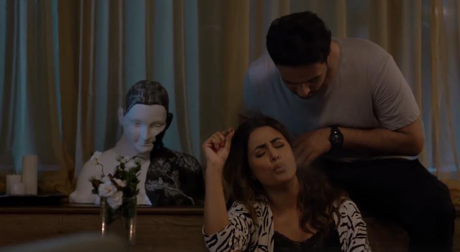 Hina Khan smoking scene in Damaged 2 web series
