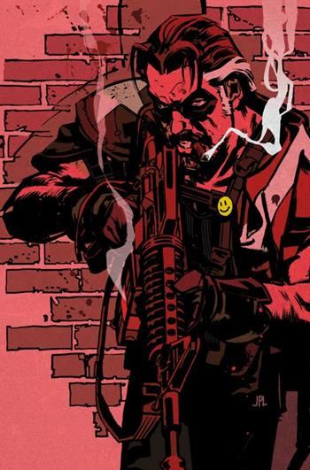 El Comediante es un héroe de Watchmen