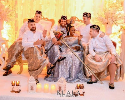 Groom And His Men Rock Efik Traditional Attire