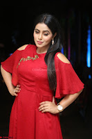 Poorna in Maroon Dress at Rakshasi movie Press meet Cute Pics ~  Exclusive 30.JPG