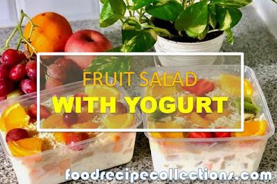 How To Make Fruit Salad With Yogurt