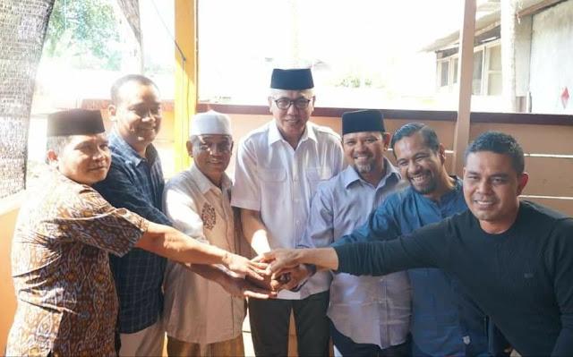 jihar news, Plt Gubernur Pertemukan Mawardi Ali dengan Waled Husaini