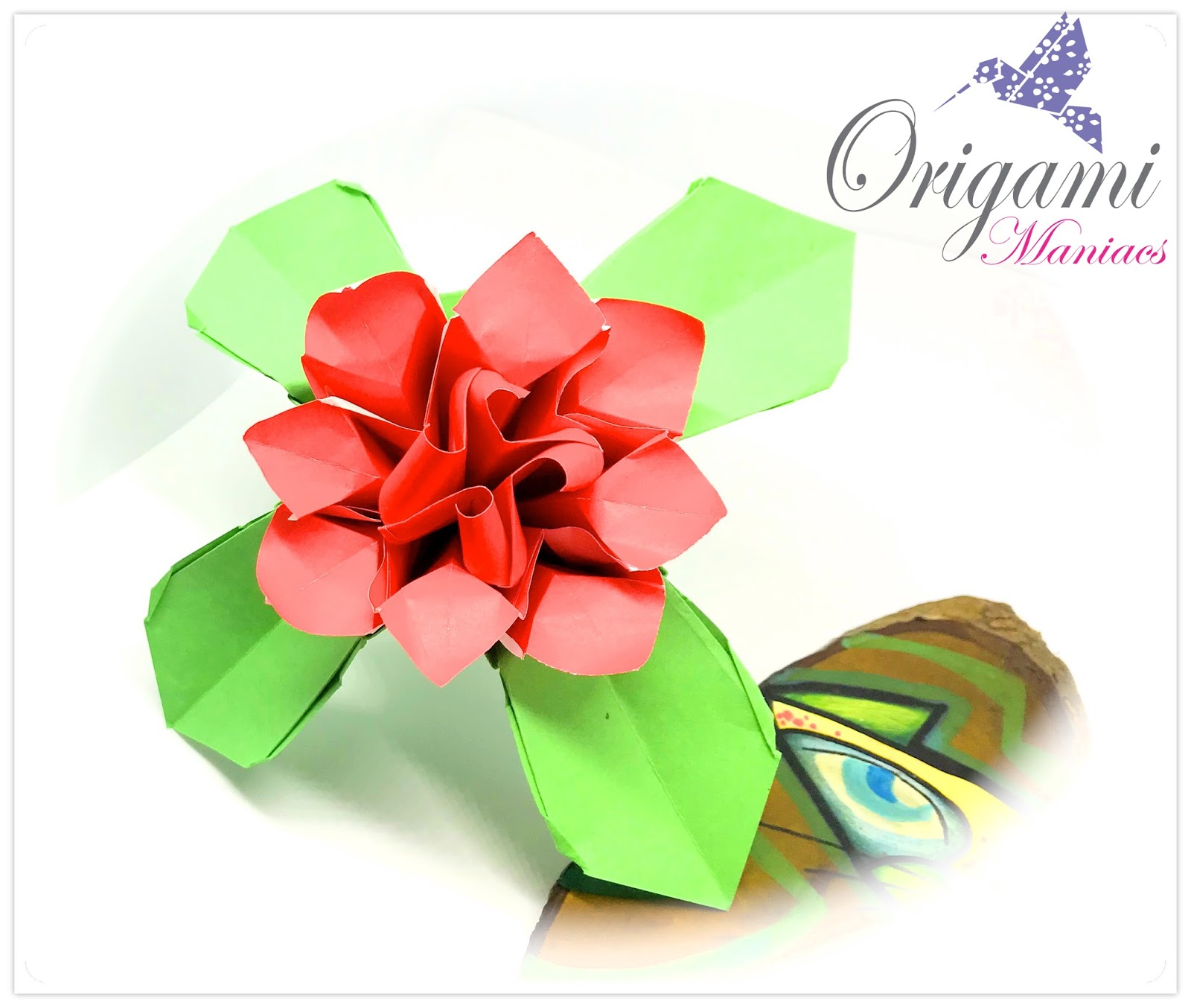 origami maniacs beautiful origami flower