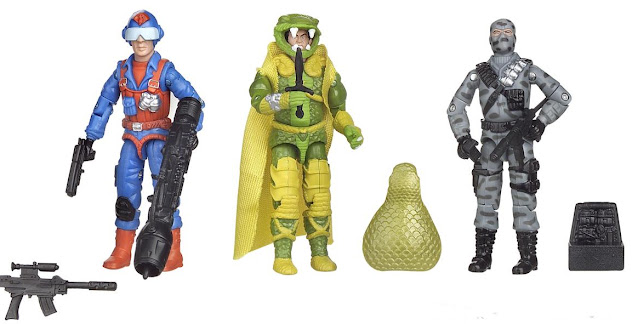 2005 Comic Pack Scrap Iron, Pre-Production, Prototype, Discoloring, Serpentor, Firefly
