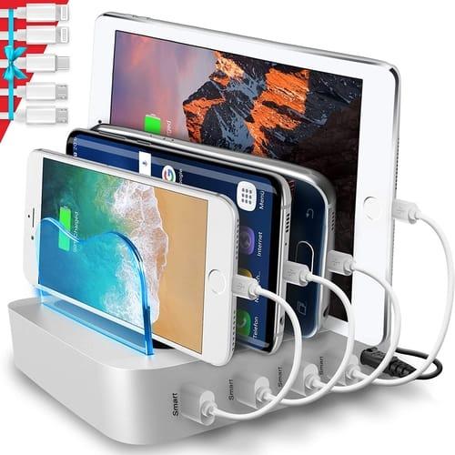 Poweroni PCS4-68 4-Port USB Charging Station