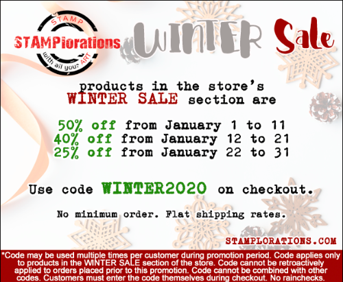 STAMPlortions Winter Sales