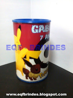 Cofrinho PCofrinho Pokemon, lembrancinha pokemon, brinde pokemon, festa pokemon, tema pokemonokemon, lembrancinha pokemon, brinde pokemon, festa pokemon, tema pokemon
